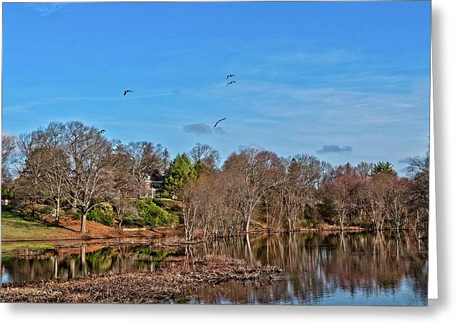 Concord Ma Greeting Card by Larry Richardson