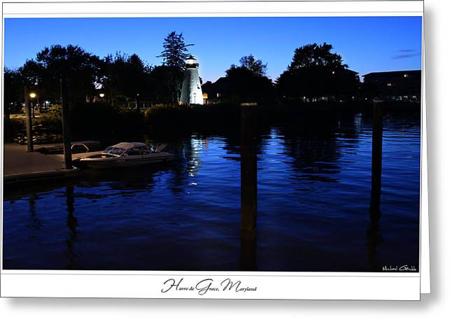 Concord Point Lighthouse Havre De Grace Prints For Sale Greeting Card