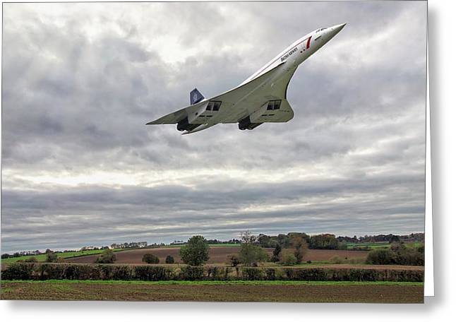 Concorde - High Speed Pass_2 Greeting Card