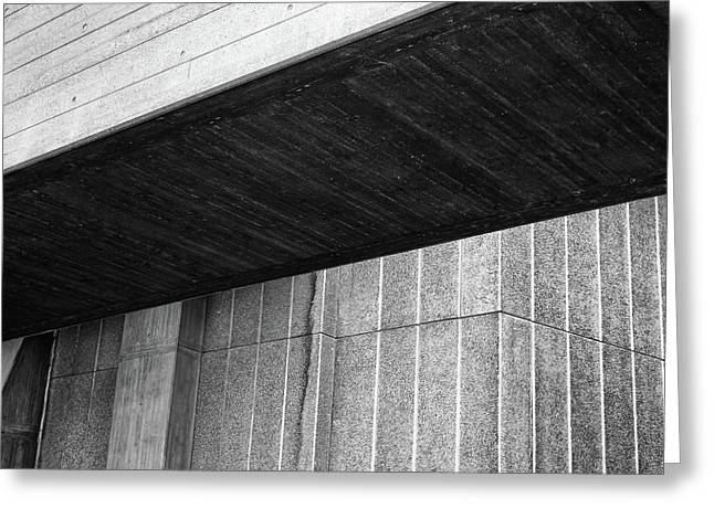 Concrete Detail - National Theatre London  Greeting Card