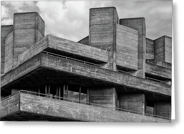 Concrete - National Theatre - London Greeting Card
