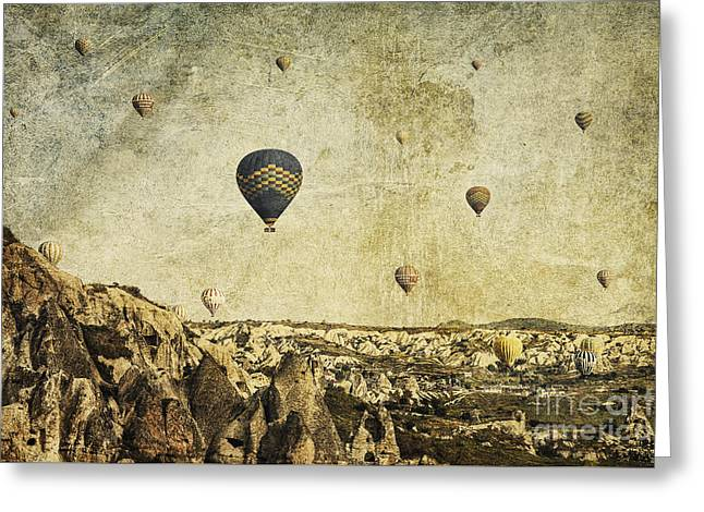 Concrete Skies Greeting Card by Andrew Paranavitana