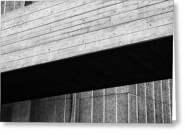 Concrete Span - National Theatre London  Greeting Card