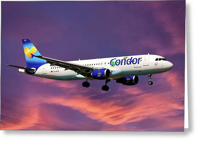 Condor Airbus A320-212 Greeting Card