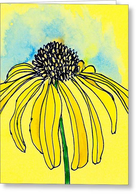 Coneflower Greeting Card