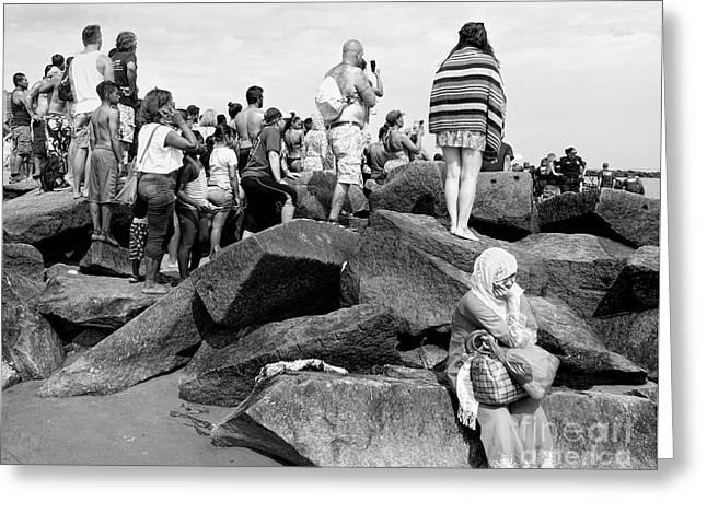 Coney Island, New York  #234972 Greeting Card