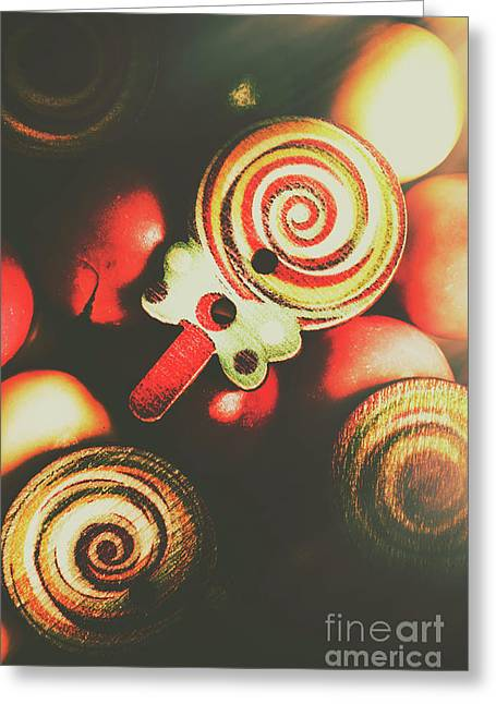 Confection Nostalgia Greeting Card