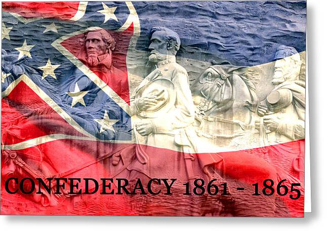 Confederacy History Greeting Card