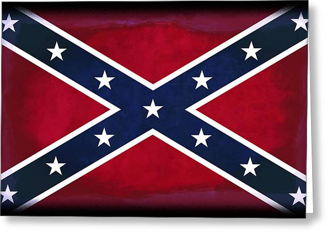 Confederate Rebel Battle Flag Greeting Card