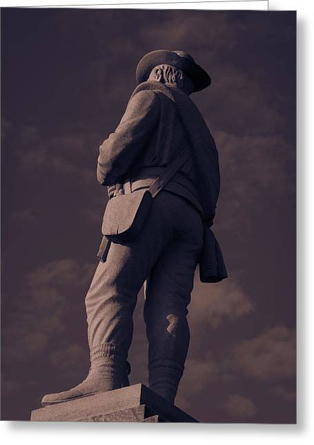 Confederate Statue Greeting Card
