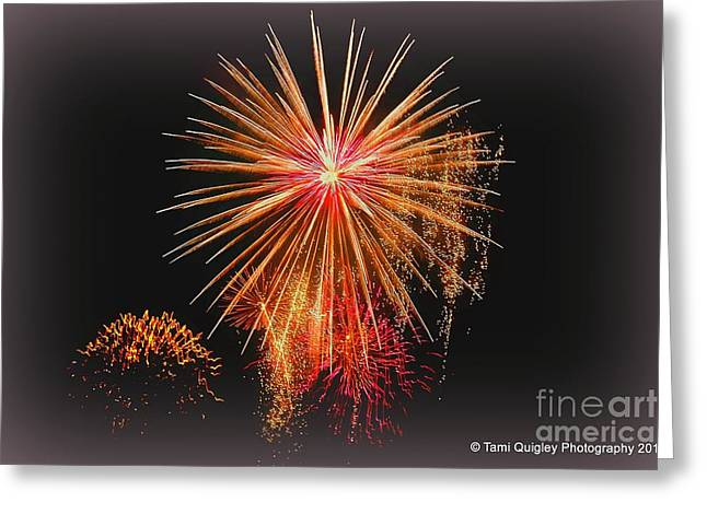Confetti Sky Greeting Card by Tami Quigley