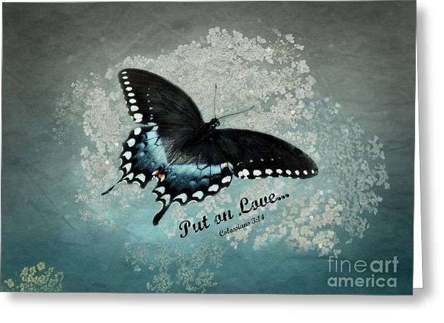Confidante - Verse Greeting Card by Anita Faye