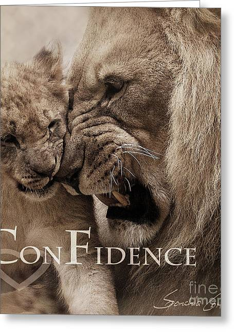 Greeting Card featuring the photograph Confidence by Christine Sponchia
