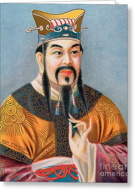 Confucius Greeting Card by Chinese School
