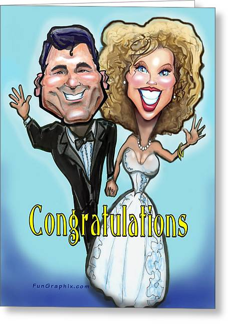 Congratulations  Greeting Card by Kevin Middleton