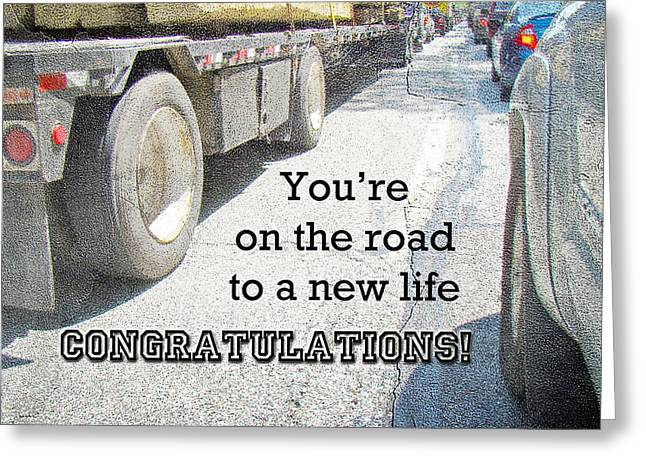 Congratulations New Life Greeting Card - Traffic Jam Greeting Card by Mother Nature