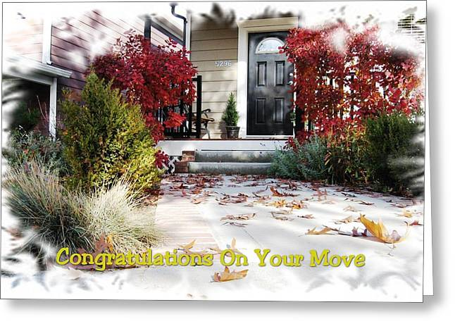 Congratulations On Your Move Greeting Card