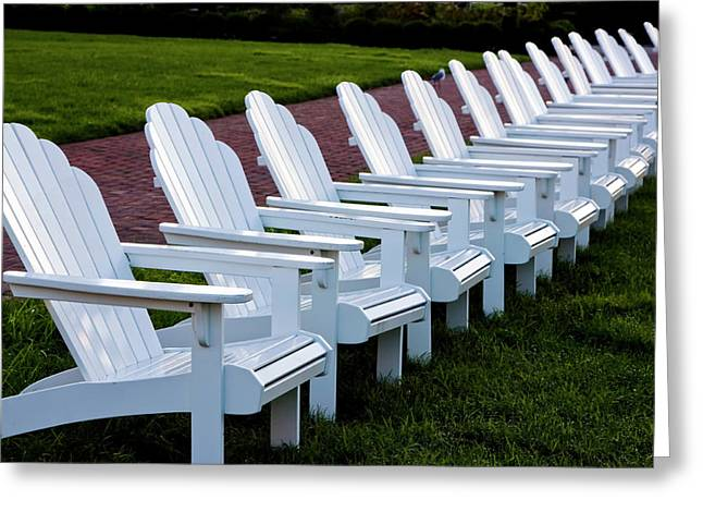 Congress Hall Chairs Greeting Card