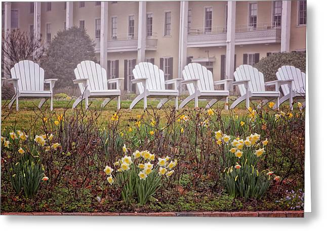 Congress Hall Spring Greeting Card