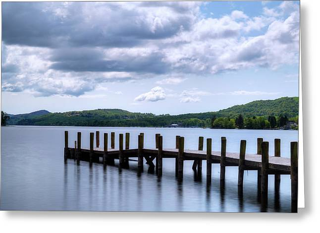 Coniston Water - Lake District Greeting Card by Joana Kruse