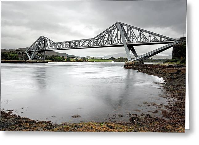 Connel Bridge Greeting Card