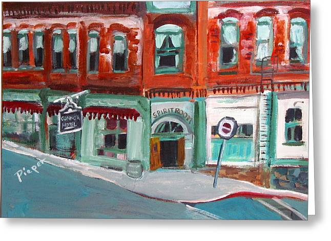 Connor Hotel In Jerome Greeting Card