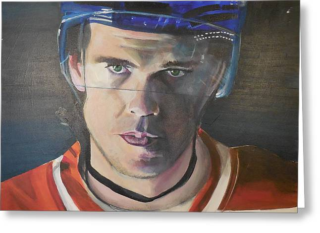 Connor Mcdavid Greeting Card by Toblerusse