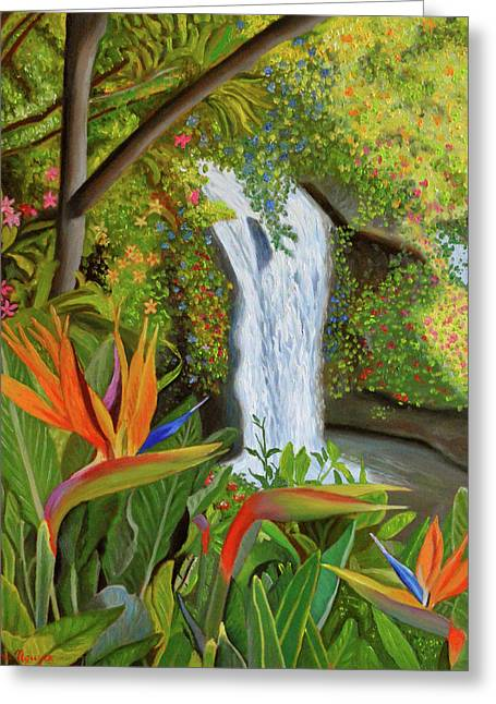 Conquest Of Paradise Greeting Card