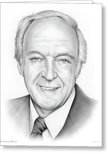 Conrad Bain Greeting Card by Greg Joens