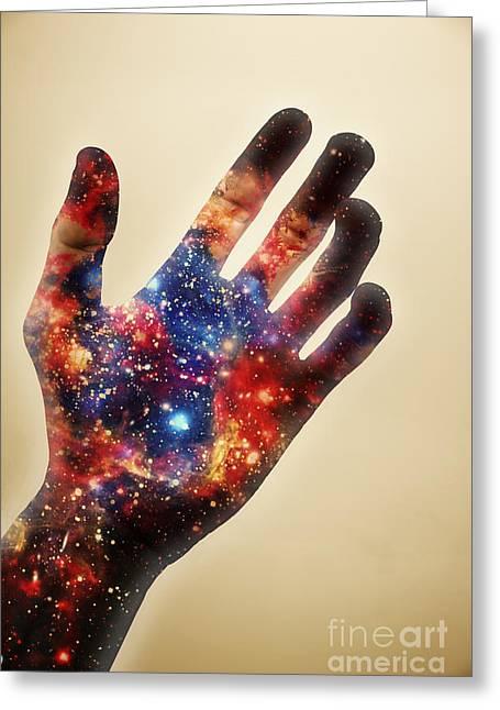 Conscious Creator In Awakening Greeting Card