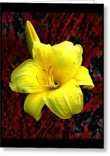 Consider The Lily Greeting Card by EGiclee Digital Prints