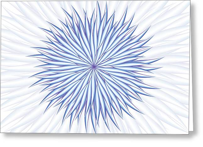 Greeting Card featuring the digital art Consontrate by Jamie Lynn
