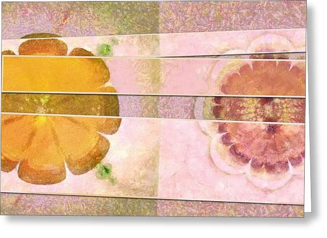 Conspiringly Daydream Flower  Id 16165-154908-50661 Greeting Card by S Lurk