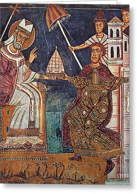 Constantine I (c280-337) Greeting Card by Granger