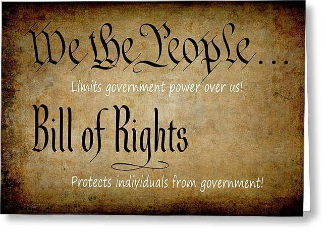Constitution And Bill Of Rights Themes Digital Art By