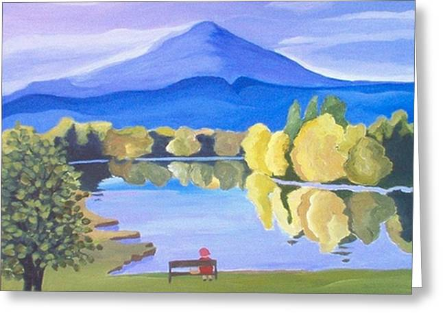Contemplation  Greeting Card by Carola Ann-Margret Forsberg