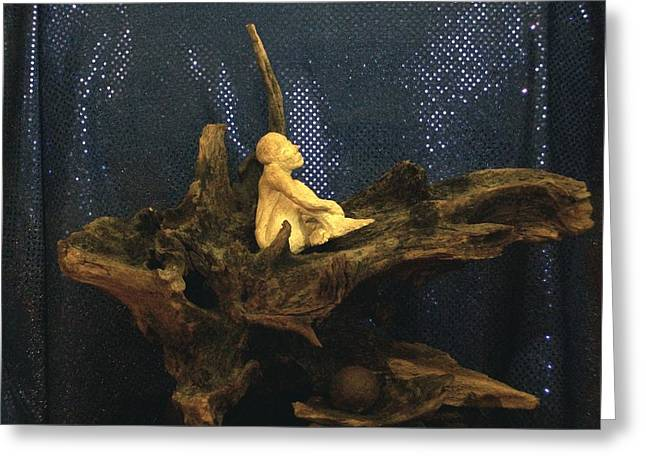 Greeting Card featuring the photograph Contemplation by Carolyn Cable