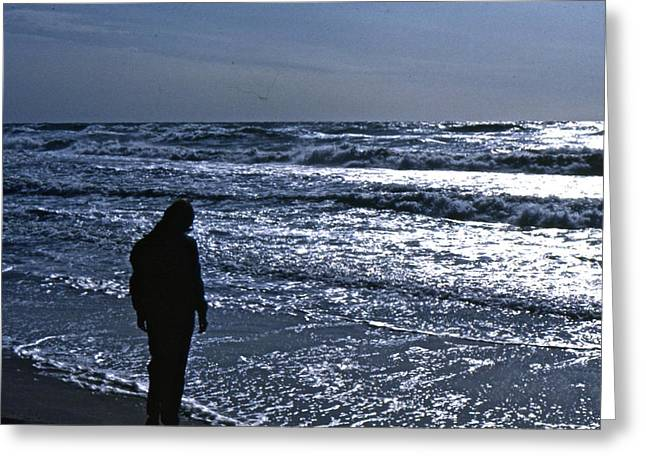 Contemplation Greeting Card by Lori Miller