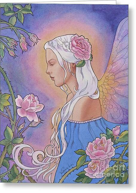 Contemplation Of Beauty Greeting Card
