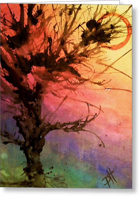 Contradiction Greeting Card by Patti Spires Hamilton