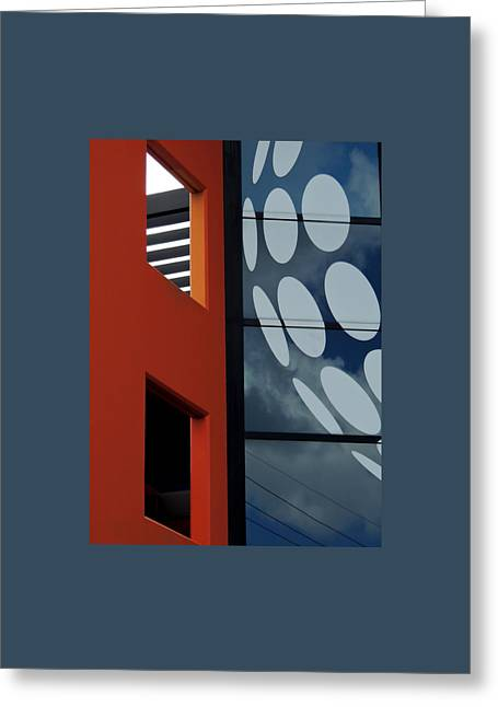 Contrasts In Abstract Greeting Card