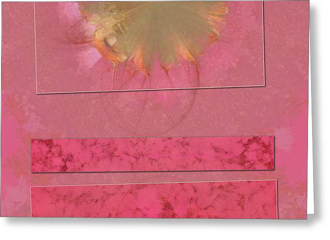 Convection Daydream Flowers  Id 16164-021948-54471 Greeting Card by S Lurk
