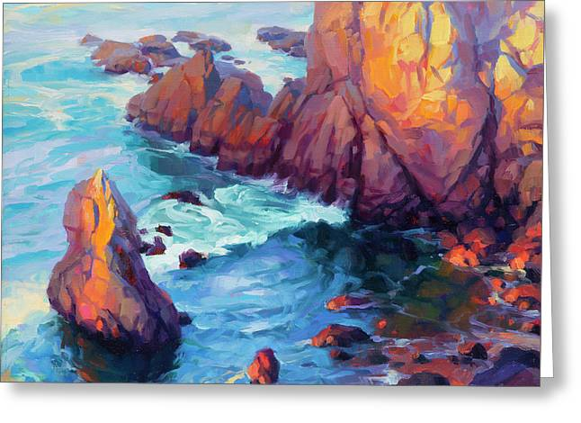 Convergence Greeting Card by Steve Henderson