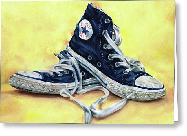 Converse Allstars Greeting Card