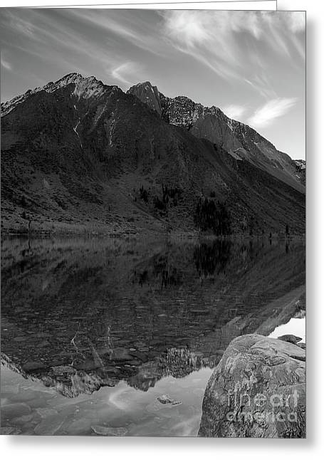Convict Lake Greeting Card by Chris Morrison