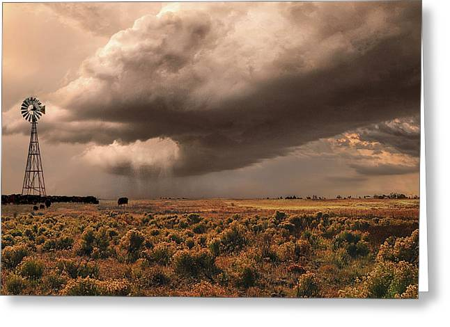 Conway Storm Front Greeting Card