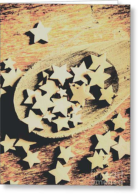 Cooking With The Stars Greeting Card