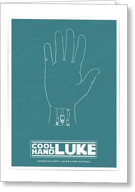 Cool Hand Luke Greeting Card