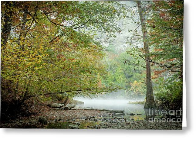 Greeting Card featuring the photograph Cool Morning by Iris Greenwell