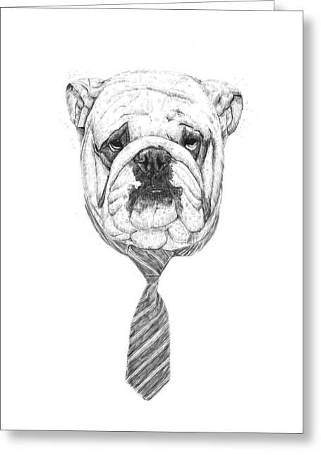 Cooldog Greeting Card